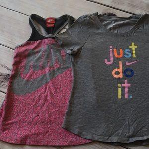 Nike Bottoms - Girls Nike/Adidas sports bundle, 7/8